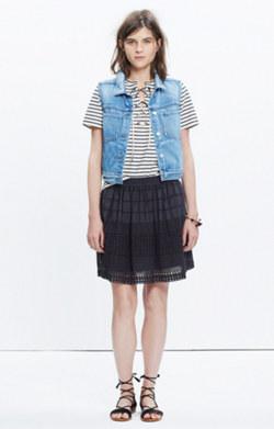 Beachhouse Eyelet Skirt
