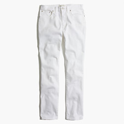 Cruiser Straight Jeans in Pure White