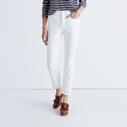 Cruiser Straight Jeans in Pure White : straight-leg & perfect ...
