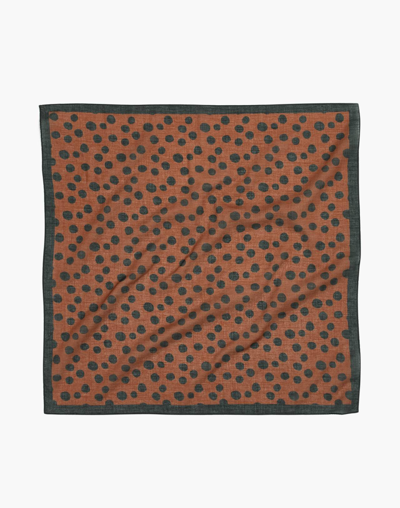 Bandana in burnt sienna multi image 2