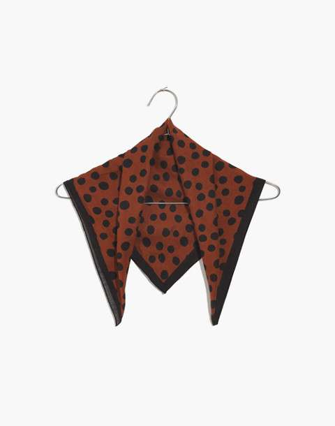Bandana in burnt sienna multi image 1