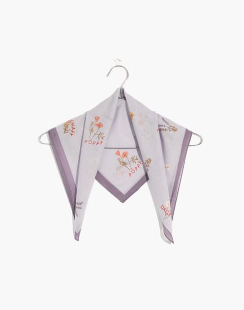 Bandana in sundrenched lilac multi image 1