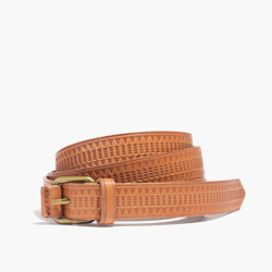 Mayla Embossed Belt