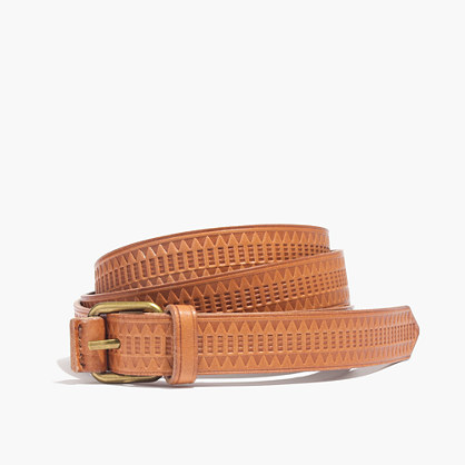 Mayla Embossed Belt