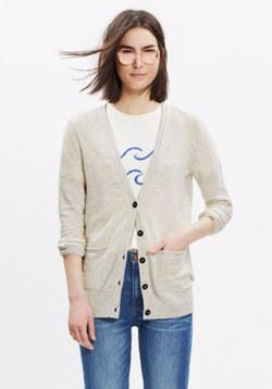Striped Graduate Cardigan Sweater