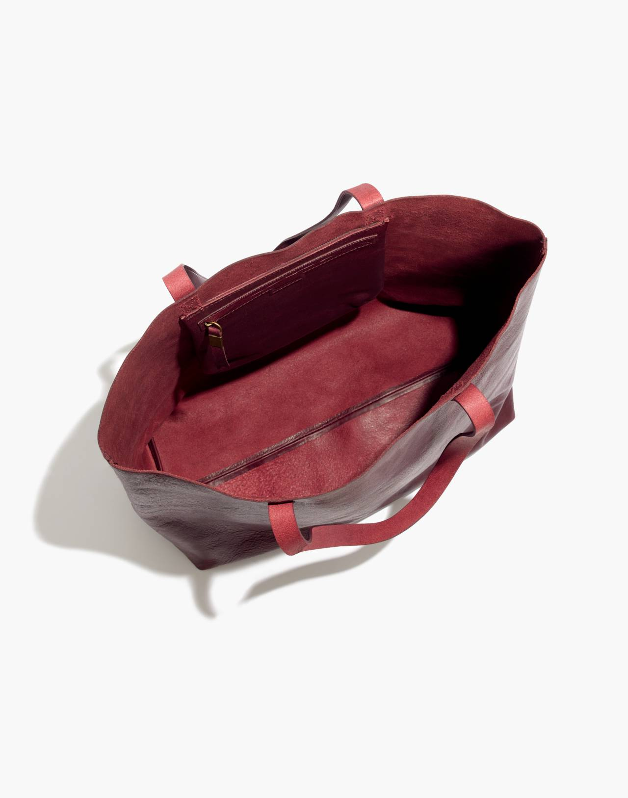 The Transport Tote in dark cabernet image 2
