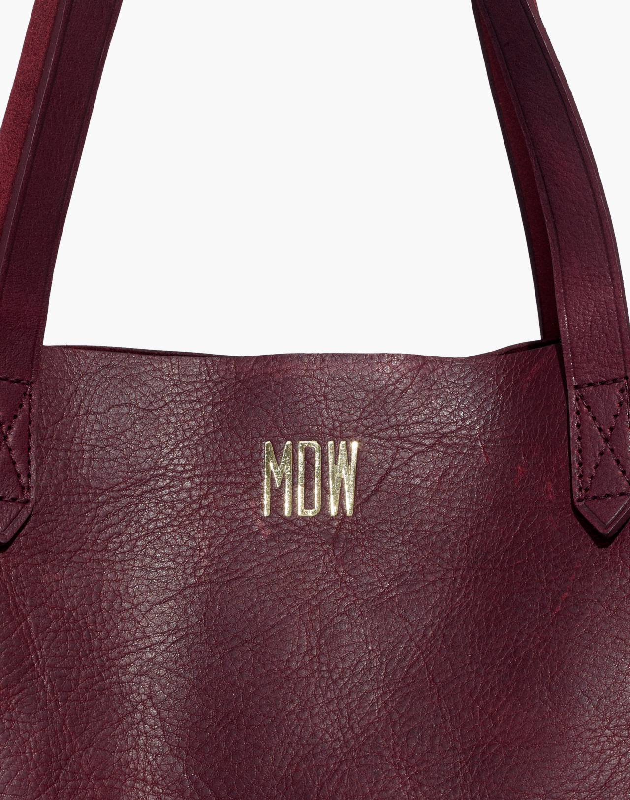 The Transport Tote in dark cabernet image 3