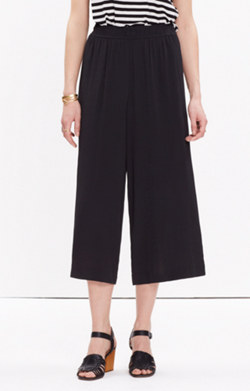 Clemente Pull-On Crop Pants