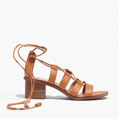 The Daniela Lace-Up Sandal