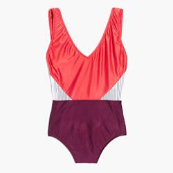 Madewell x Giejo™ V-Neck One-Piece Swimsuit