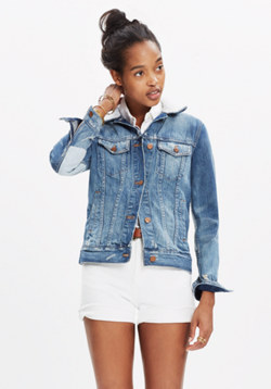 Madewell x B Sides™ Reworked Jean Jacket
