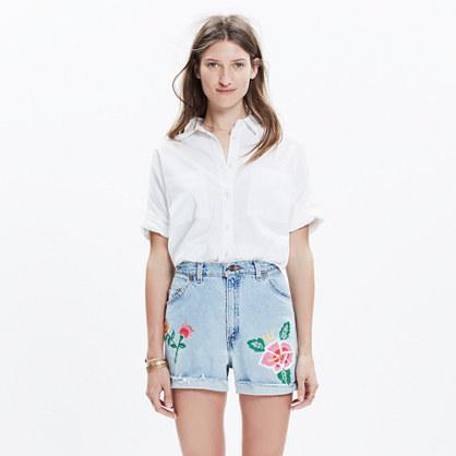 JM Drygoods™ Embroidered Vintage Jean Shorts