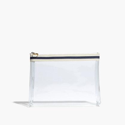 Crystalline Zip Pouch