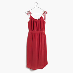 Silk Skyway Cami Dress