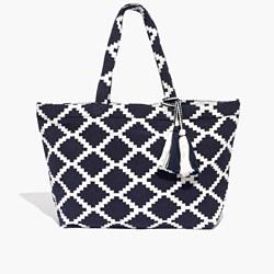 The Amalfi Jacquard Tote Bag