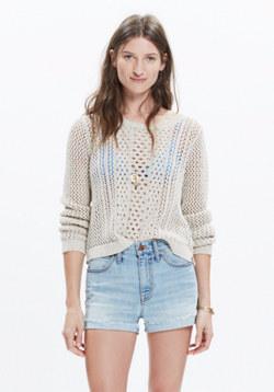 Summerstitch Pullover Sweater