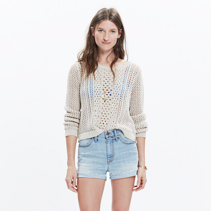 Summerstitch Pullover Sweater