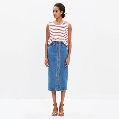 Midi Jean Skirt : midi & maxi | Madewell