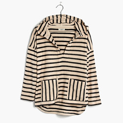 Striped Context Hoodie