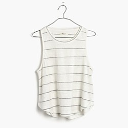 Linen Allegro Top in Soledad Stripe