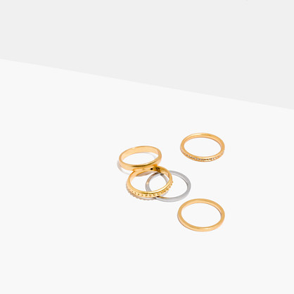 Soundloop Stacking Ring Set