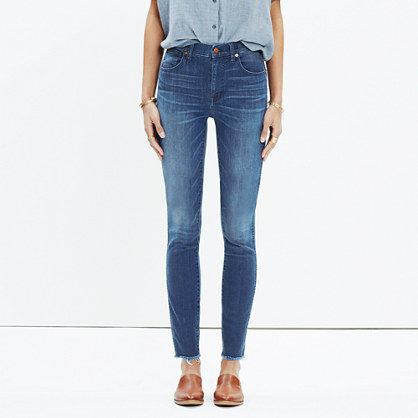 "10"" High-Rise Skinny Jeans in Lynda Wash"
