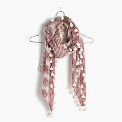 Bloomstamp Square Scarf