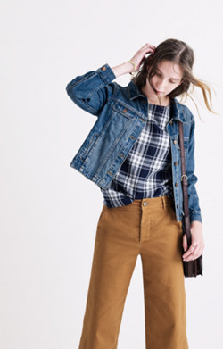 Mercer Crop Jean Jacket