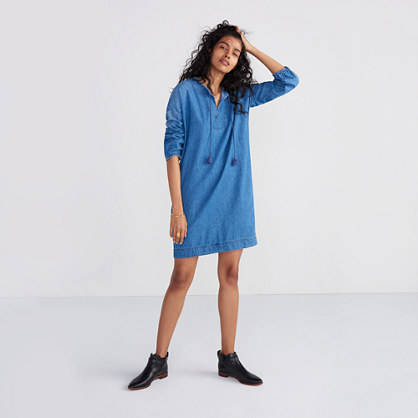 Denim Artiste Tunic Dress