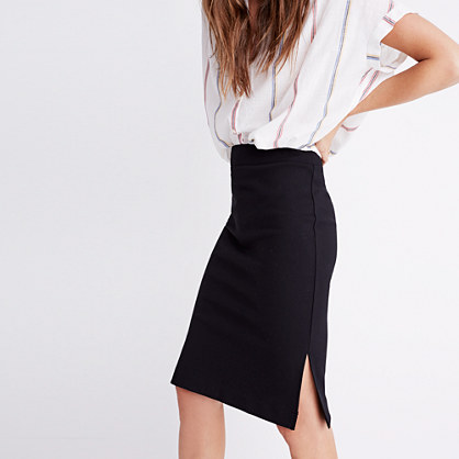 Column Side-Slit Skirt