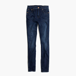 "Short 10"" High-Rise Skinny Jeans in Hayes Wash"