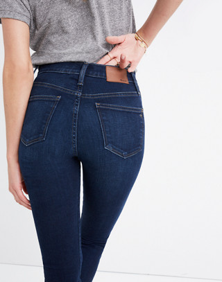 "10"" High-Rise Skinny Jeans in Hayes Wash in hayes wash image 2"