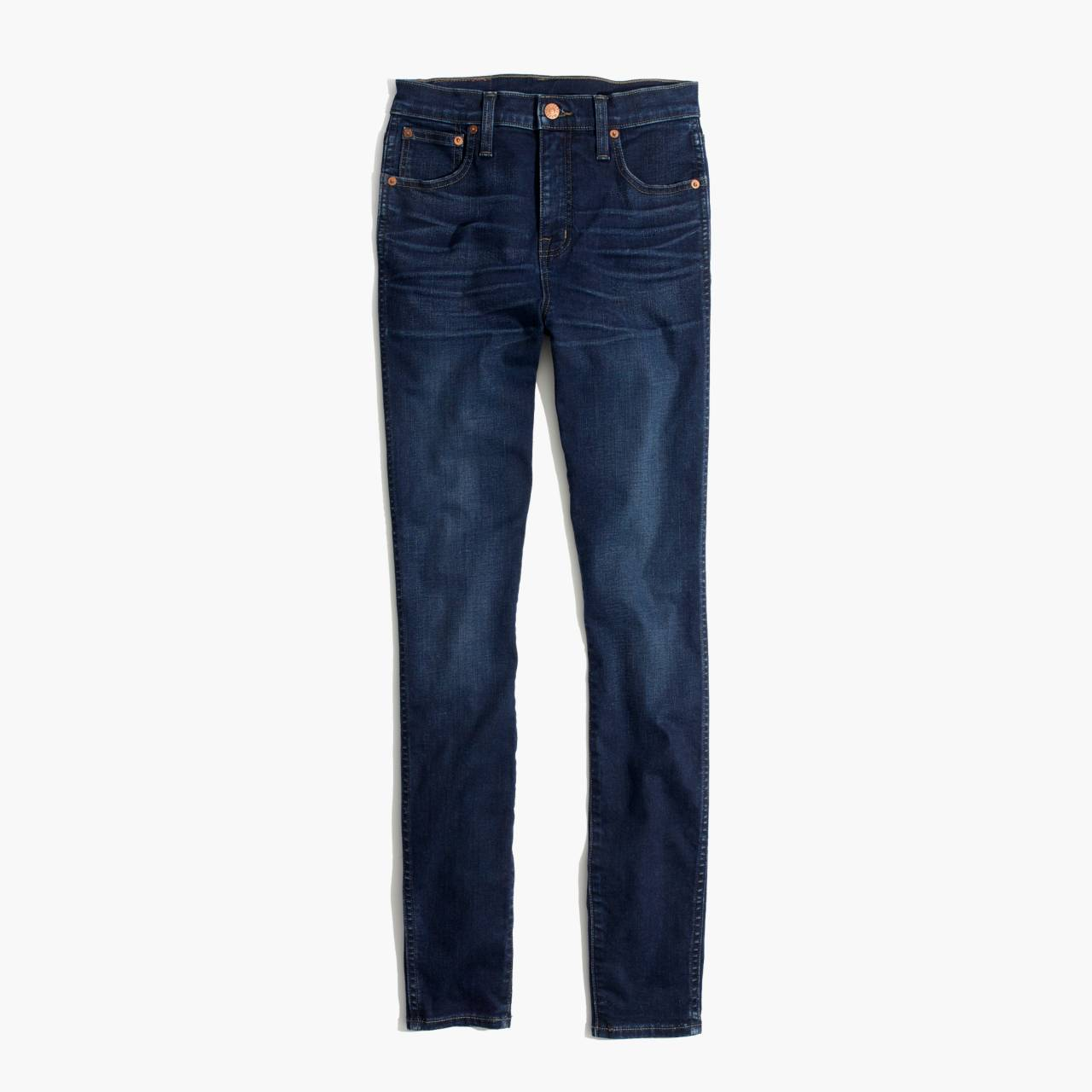 """Taller 10"""" High-Rise Skinny Jeans in Hayes Wash in hayes wash image 4"""