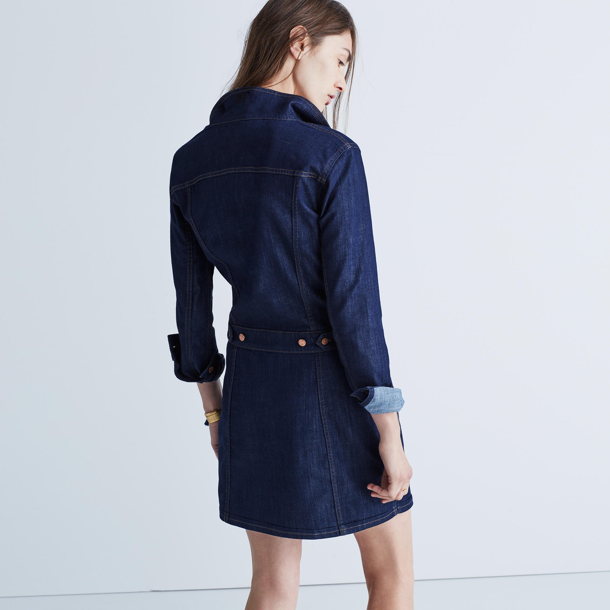 Jean Jacket Dress : more denim dressing | Madewell