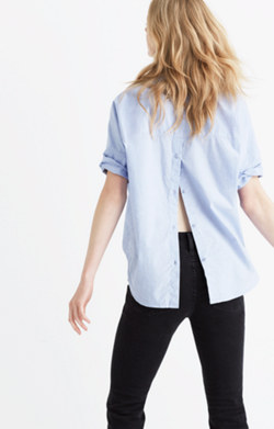 Courier Button-Back Shirt
