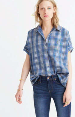 Courier Shirt in Cohen Plaid