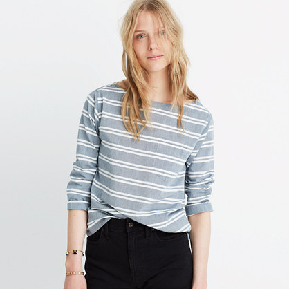 Striped Herald Tee