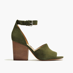 The Alena Sandal in Suede