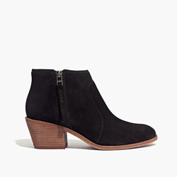 The Janice Boot in Suede