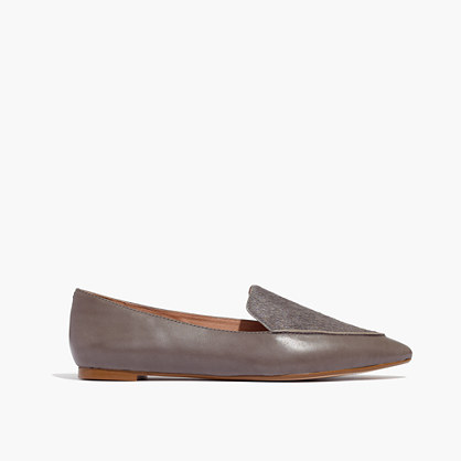 The Lou Loafer in Calf Hair and Leather