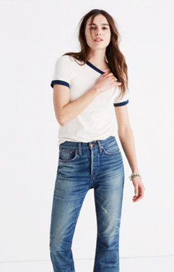 Pre-order Rivet & Thread Ringer Tee in Vintage Linen