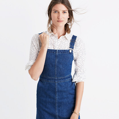 Madewell Denim Hillview Womens Dress