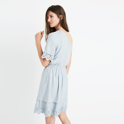 Summertime One-Shoulder Dress : casual dresses | Madewell