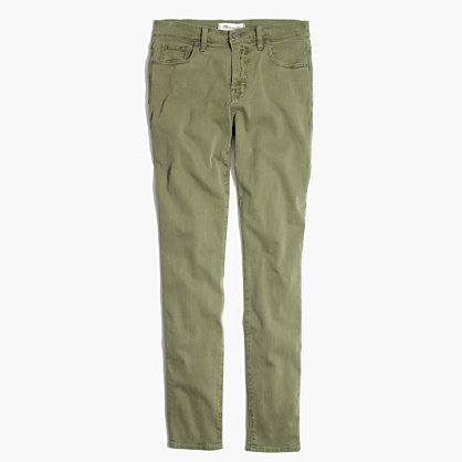"""Tall 9"""" High-Rise Skinny Jeans: Garment-Dyed Edition"""