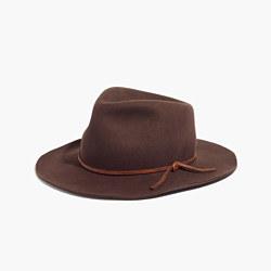Madewell x Biltmore® Leather-Band Felt Fedora