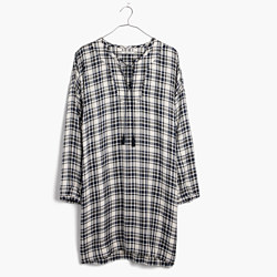 Plaid Artiste Tunic Dress