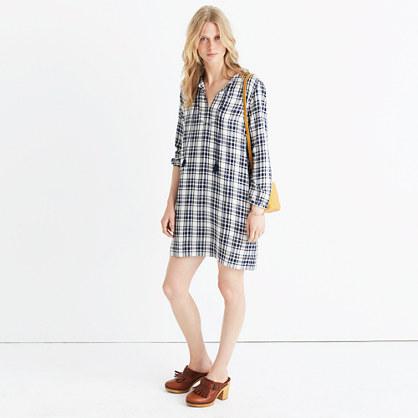 Plaid Artiste Tunic Dress