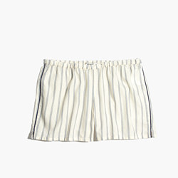 Bedtime Pajama Shorts in Stripe