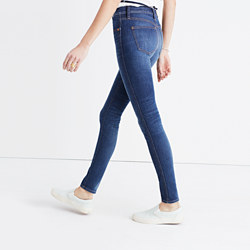"""9"""" High-Rise Skinny Jeans in Polly Wash"""