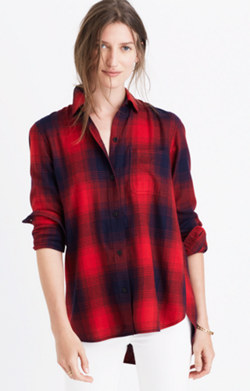 Classic Ex-Boyfriend Shirt in Wilder Plaid